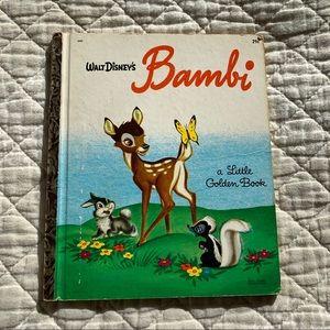 Walt Disney Bambi book